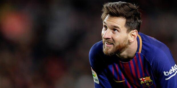 Barca: Mega-Zoff um Lionel Messi