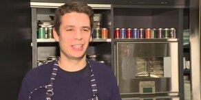 Hobby-Koch David kocht ein 3-Gang Menü
