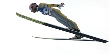 Skifliegen am Kulm : Kraft nicht in Top 10