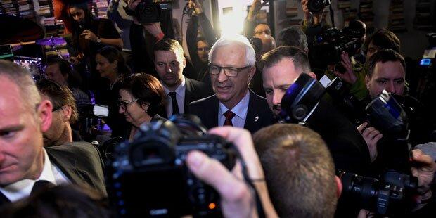 Präsidentenwahl in Tschechien: Stichwahl