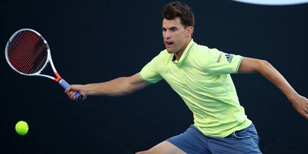Thiem verliert irren Tennis-Krimi