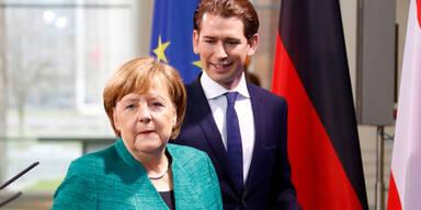 Merkel und Kurz