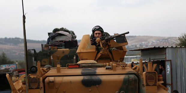 Türkei rückt mit deutschen Panzern vor