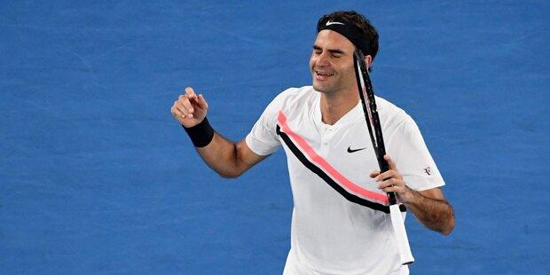Wahnsinn: Federer holt 20. Major-Titel