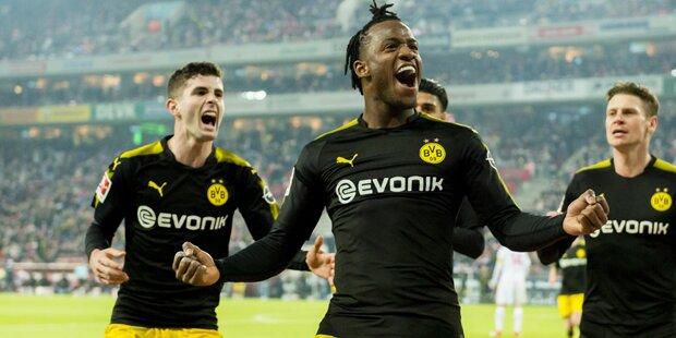 Salzburg kracht auf Dortmund