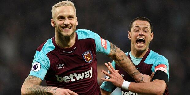 Arnautovic trifft bei West Ham-Sieg