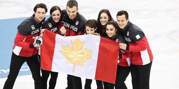 Kanada erobert Gold im Teambewerb