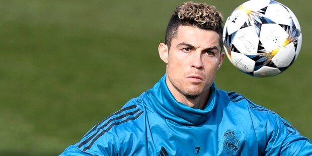 Pikante Geschichte um Cristiano Ronaldo
