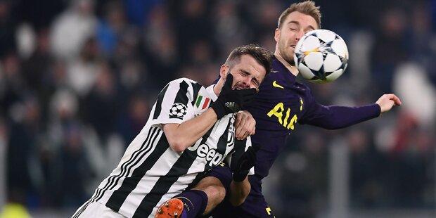 2:2 gegen Tottenham: Juve droht CL-Aus