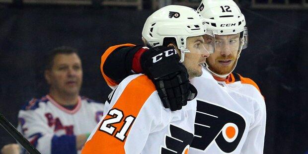 Flyers-Sieg: Raffl voll auf Playoff-Kurs