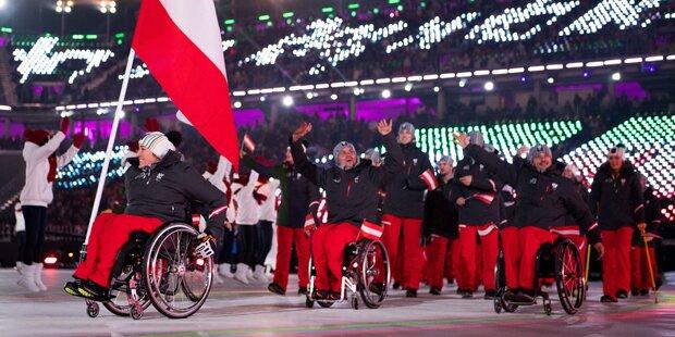 Paralympics in Pyeongchang eröffnet