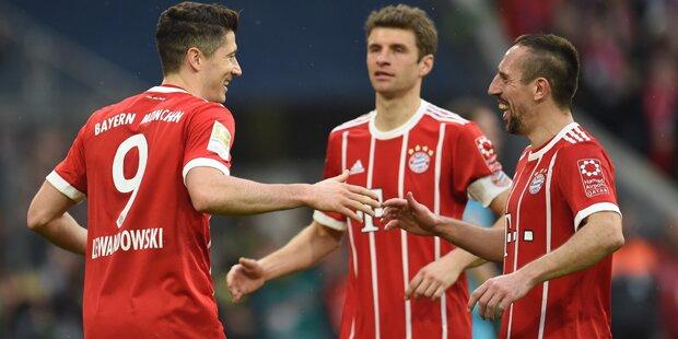 FC Bayern: Riesen-Wirbel um Lewandowski