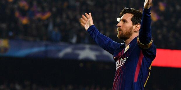 Messi zaubert Barcelona weiter