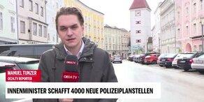 Innenminister Kickl im oe24.TV-Interview
