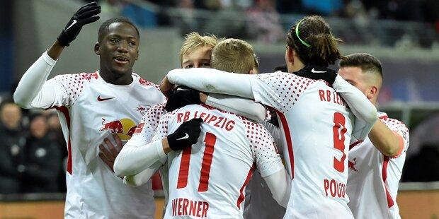 2:1 - Leipzig schockt Bayern