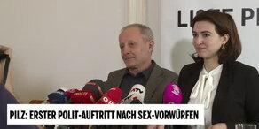 Peter Pilz genießt Blitzlichtgewitter