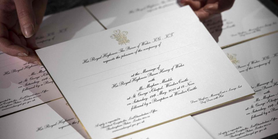 Harry Meghan Einladungen