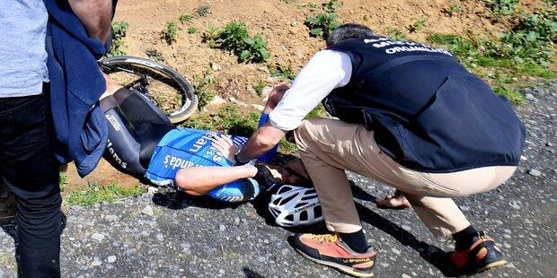 Todes-Drama: Rad-Profi stirbt nach Sturz
