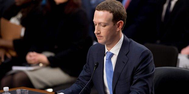 Hier geriet Zuckerberg ins Straucheln