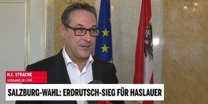 Strache im Interview zur Salzburg-Wahl