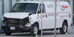 Toronto: Todesfahrt fordert 10 Menschenleben