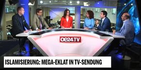 Mega-Eklat bei oe24.TV-Talk zu Islamisierung