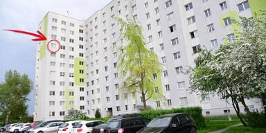 Fenstersturz Wien-Donaustadt