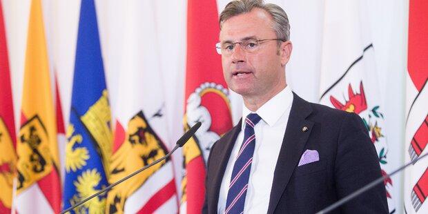 Hofer droht Aula-Autoren mit Ende der FPÖ-Karriere