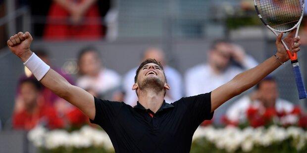 Dominic Thiem im Finale