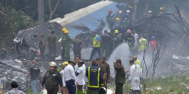 Flugzeug in Kuba abgestürzt