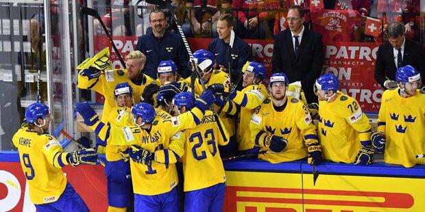 Eishockey: Schweden holte WM-Titel