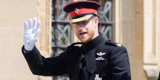 Prinz Harry bestellte Pizza für die Feier