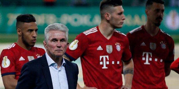 Schlechte Verlierer? Bayern verweigern Spalier