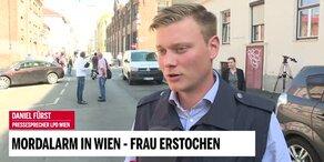 Mordalarm in Wien: Frau erstochen