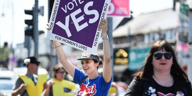 Abtreibungsverbot: Mehrheit der Iren für Aufhebung