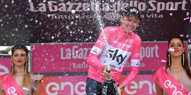 Froome gewinnt erstmals Giro d'Italia