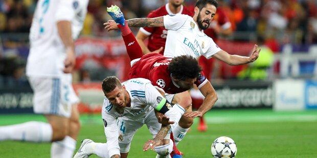 1-Milliarde-Euro-Klage gegen Ramos wegen Salah-Fouls
