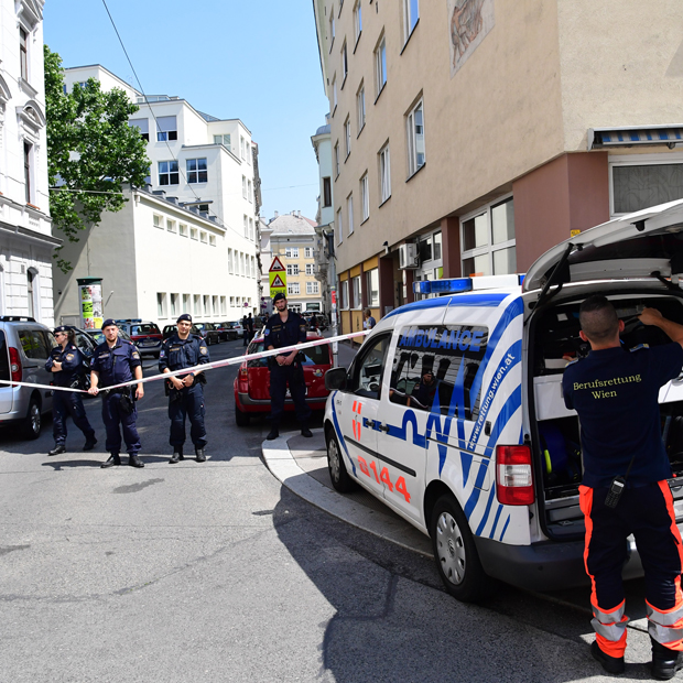 Schießerei in Wien-Wieden