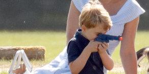 Shitstorm gegen Prinz George - wegen dieses Fotos