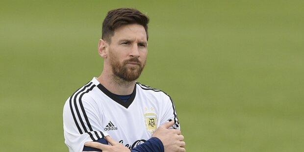 Messi mit Vorwurf: