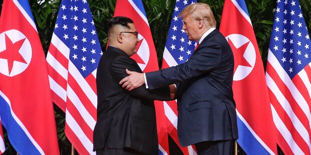 Hälfte befürwortet Trumps Nordkorea-Politik