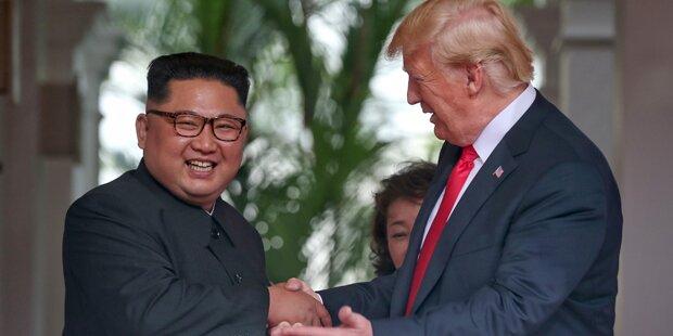 Trump ließ Trailer für Kim-Treffen produzieren