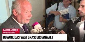 Aussage: Das sagt Grassers Anwalt