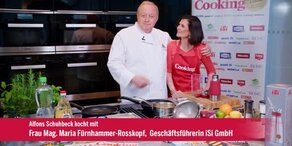 """Maria Fürnhammer-Rosskopf kocht """"Weißen Spargel mit Maracuja-Hollandaise & Erdäpfeln"""""""