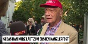 Lauda, Kiesbauer, Alfons Haider und Philipp Rösler im Interview