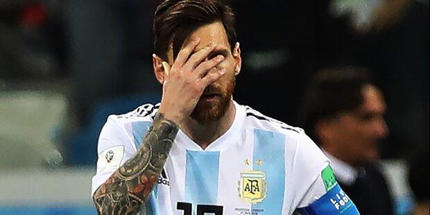 Aufreger: Messi offenbart Team-Pläne