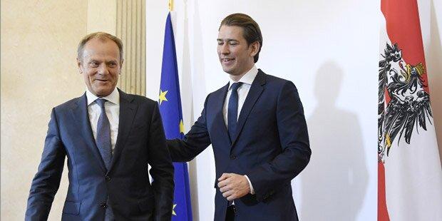 Tusk will Kurz zu 'seinen Freunden der Visegrad-Gruppe' befragen