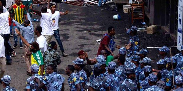 Äthiopischer Ministerpräsident revidiert: Doch keine Toten bei Kundgebung