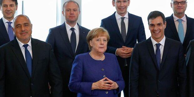 EU-Gipfel: Merkel sucht Notlösung im Asylstreit