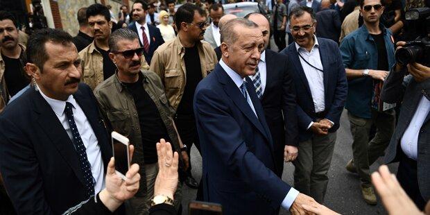 60 Prozent der Auslandstürken stimmten für Erdogan